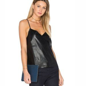 Blaque label tank with tags